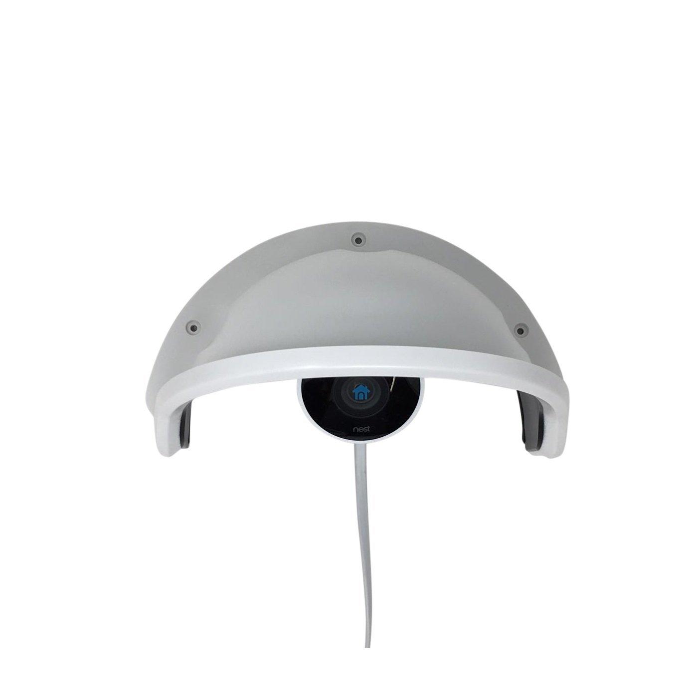 Kenuco Universal Sun Rain Shade Camera Cover Shield For Outdoor Nest Cam