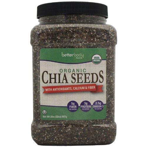 Betterbody Foods Organic Chia Seeds (32 Oz.) - SCS