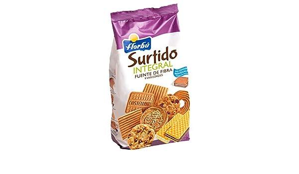 Florbú Surtido de Galletas Integrales - 420 Gr: Amazon.es: Alimentación y bebidas