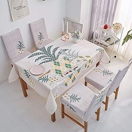 chenbyyao Toalla Simple Impermeable de algodón y Lino 120 * 120 cm ...