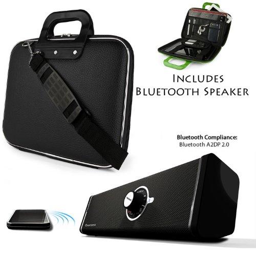 Cady Shoulder Bag For HP Pavilion 13 x2 | Spectre x2 | Split x2 ( w/ base) | 13.3-inch Tablet PC + Bluetooth Speaker by Sumac