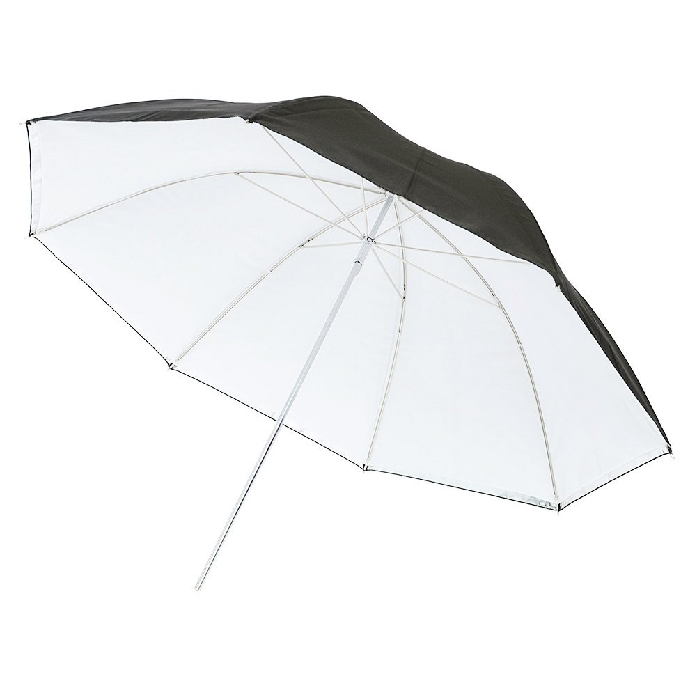 Neewer® 43' 110cm Detachable Photography Lighting Umbrella -White Convertible Umbrella with Removable Black Cover and Reflective Silver Backing 52080743