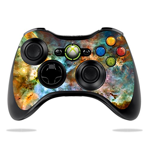 MightySkins Skin For Microsoft Xbox 360 Controller - Space Cloud Protective, Durable, and Unique Vinyl Decal wrap cover | Easy To Apply, Remove, and Change Styles | Made in the USA