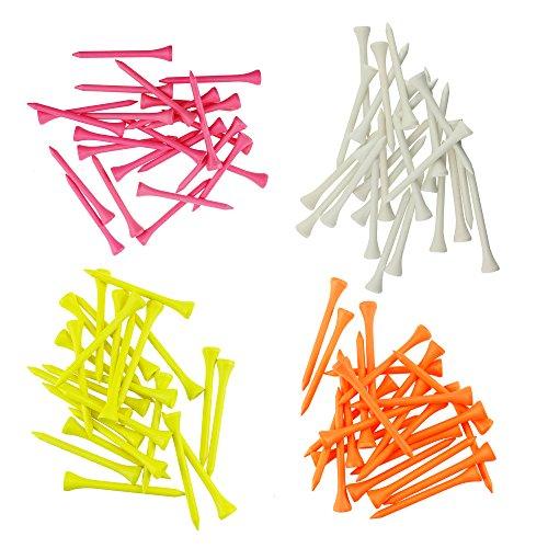 4 200k Color (IZTOSS Wood Golf Tees 2 3/4