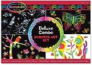 Melissa & Doug Scratch Art Deluxe Combo