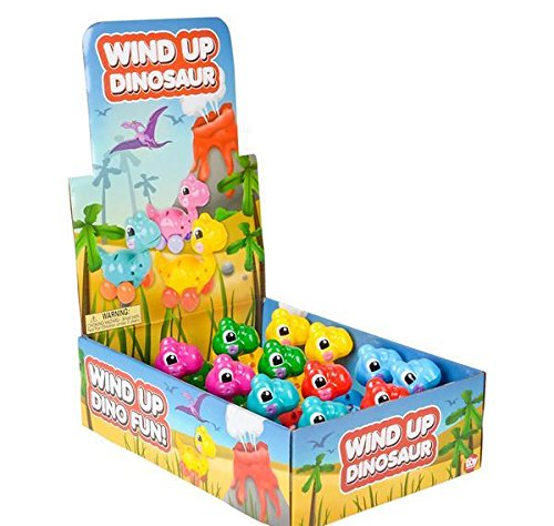 3.25'' WIND-UP DINOSAUR TOY, Case of 72 by DollarItemDirect (Image #2)