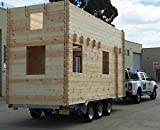Allwood Frontier | 228 SQF Tiny Home, Kit Cabin