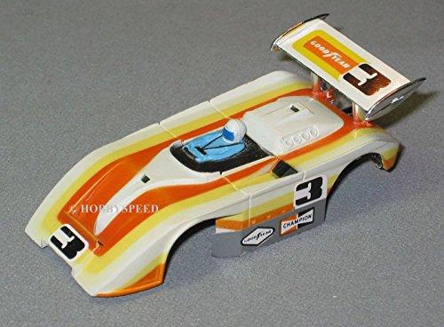 Slot Car Racing Body - AURORA HO G PLUS SHADOW #3 SLOT CAR RACING BODY