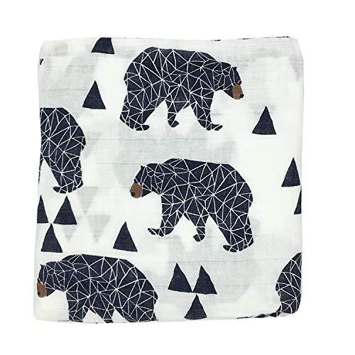Ultra Soft Muslin Swaddle Blankets Premium Receiving Blanket for Boys & Girls 47