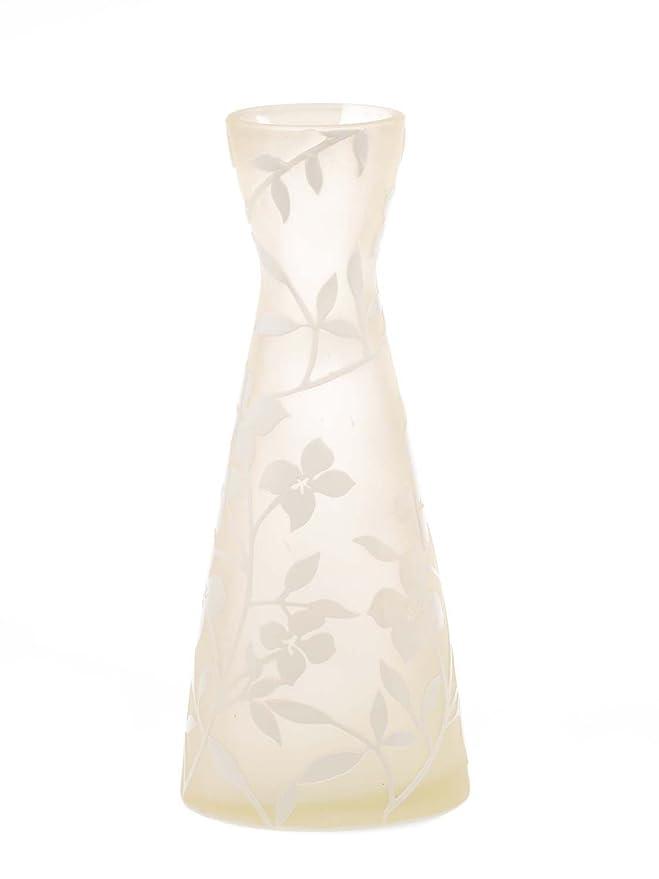 Glasvase Glas Vase im Italien Murano anik Stil Höhe 38cm schwere Tischvase glass