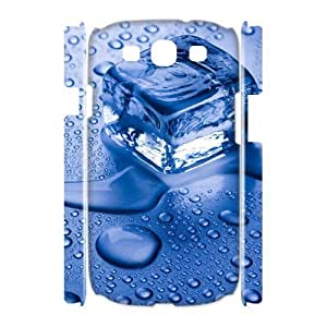 3D {freeze Series} Samsung Galaxy S3 Cases Blue Ice, Kawaii Case Sexyass - White