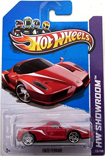 ENZO FERARRI Hot Wheels 2013 HW SHOWROOM Series 1:64 Scale Collectible Die Cast Car Model #178