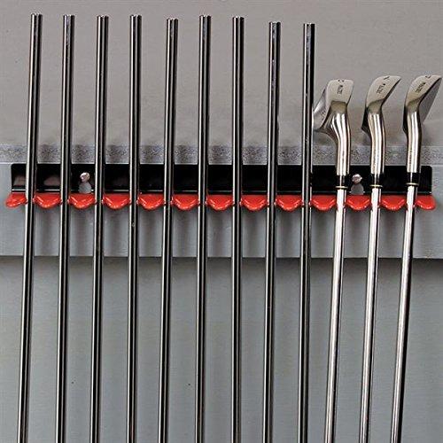 Golfworksベンチマウントシャフトホルダーゴルフクラブ乾燥表示ラック   B07CGDN9SS
