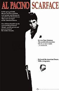 Laminated Scarface Al Pacino Movie Poster Print - 24x36