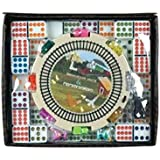 New Double 12 Mexican Train Dominoes Set with Dots