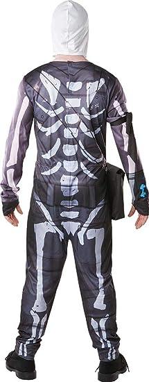 Fortnite - Disfraz Skull Trooper para adulto, talla S (Rubies 300195-S)