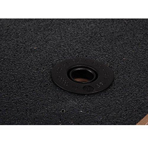AUDI Genuine 4B1061220EC2LP Front Premium Textile Floor Mat Melange