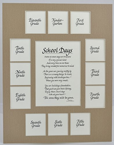 All Things For Mom School Picture Mat with Classic verse