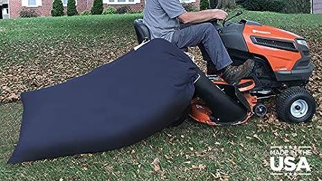 Amazon.com: Bolsa de hojas de tractor de césped – 90 gal ...