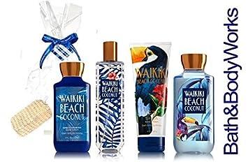 Amazon Com Bath Body Works Waikiki Beach Coconut Gift