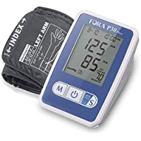 FORA P30 Plus Arm Blood Pressure Monitor, Made in Taiwan, Smart Averaging Technology, Precise with 3 Measurements in 2 Minutes, Adjustable Cuff, 60 Test Memories