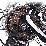 Dsrgwe-Mountain-Bike-Mountain-Bike-Telaio-Lega-di-Alluminio-Hardtail-Doppio-Freno-a-Disco-e-Sospensione-Anteriore-26inch-275inch-Ruote