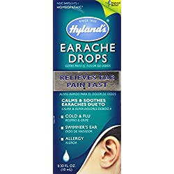 Hyland's Natural Homeopathic Earache Drops, 0.33 Ounce
