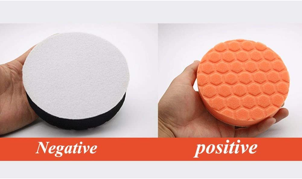 Dailyfun Polishing Sponge Foam Polishing Pad 5PCS for Car Polisher Buffer Mirror Cleaning Multipurpose Soft Buffer Disc 3//4//5//6//7 Inch