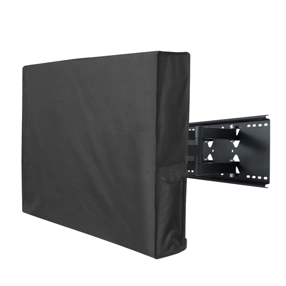 Porch Shield 44-47 inches Outdoor TV Cover Universal Weatherproof Protector for LCD, LED, Plasma Flat TV Screen, Compatible with Wall Mounts and Stands