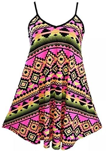 Robe Taille C Multi 4 36 Fashion 54 patineuse Less Aztec Ew1IxqEU64