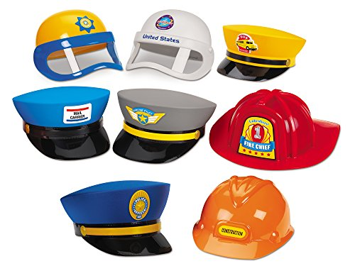 Postman Hat Costume (Lakeshore Career Hat Collection)