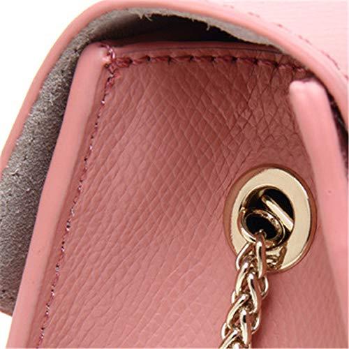 Mujer Bolso Azul Medium Rosa Para Cruzados Luut t4q6x