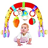 Beautiful Baby Car Seat Infant Seat Stroller Toys Carriage Arch Toy (Baby Stroller Toy Red)