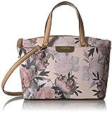 Calvin Klein Lola Printed Saffiano Top Zip Satchel, Floral