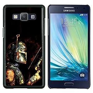 TECHCASE---Cubierta de la caja de protección para la piel dura ** Samsung Galaxy A5 ( A5000 ) 2014 Version ** --Bobba Fett - Bounty Hunter Grunge