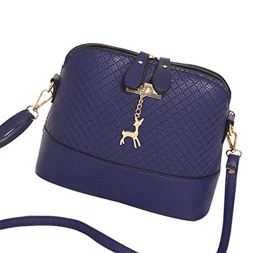 Baby Boy Girl Diaper Nappy Mother Bag Portable Handbag (Blue) - 1