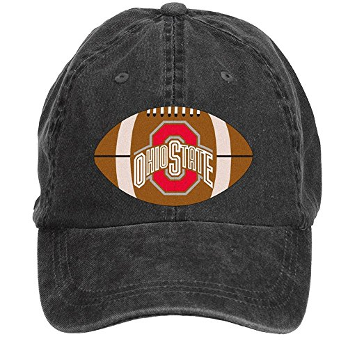 Tommery Unisex Ncaa Ohio State Buckeyes Hip Hop Baseball - Rugby All Wallpaper Black