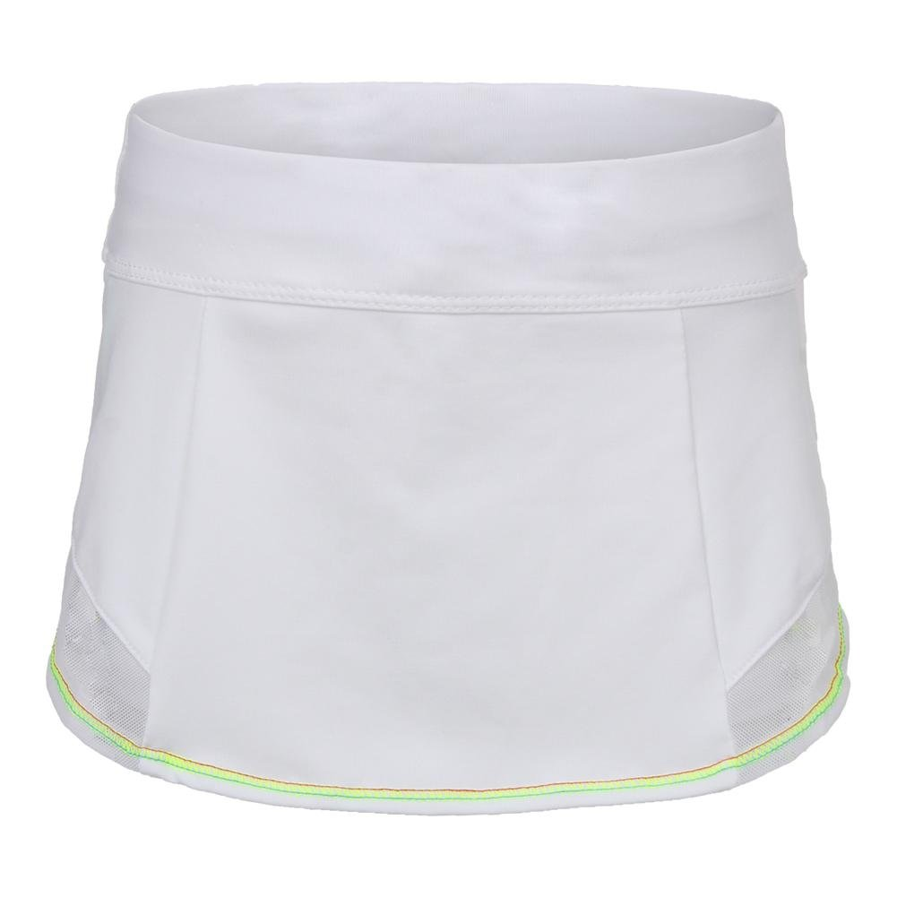 Lucky In Love-Girls` Cross Trainer Skort White-(655295860985)