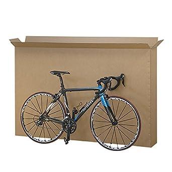 Propac z-boxbicg cajas para bicicletas, cartón resistente a dos ...