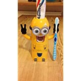 Despicable Me Minions Toothbrush Holder/ Toothpaste Dispenser Two Eyed by toy