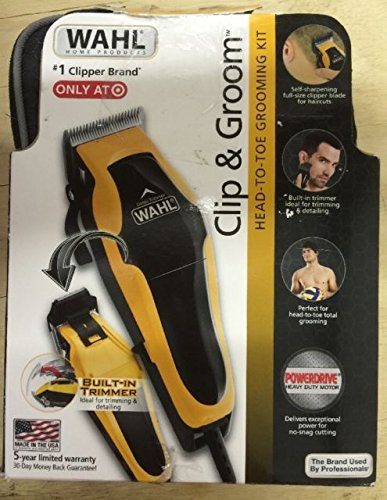 WAHL Clip & Groom Head-To-Toe Grooming Kit