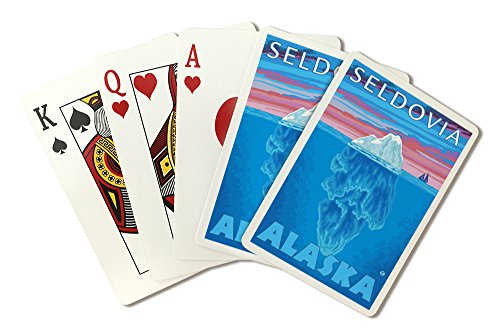 Iceberg Cross-Section - Seldovia, Alaska (Playing Card Deck - 52 Card Poker Size with Jokers)
