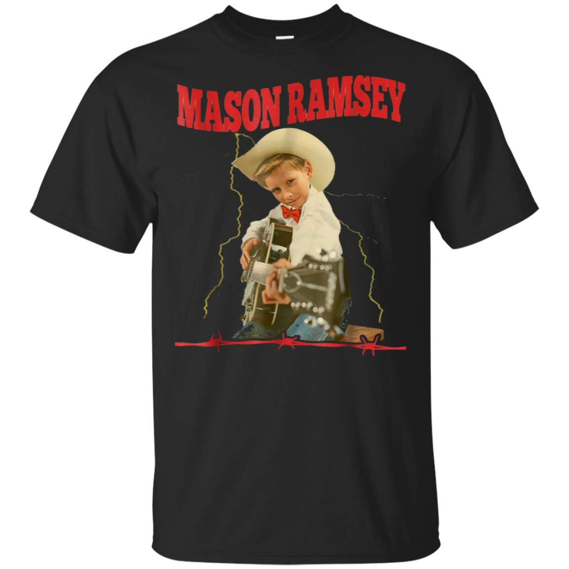 new products 5764c 76dc7 Pew Pew Mason Ramsey - Yodeling Boy Shirt - Guitar Gift ...