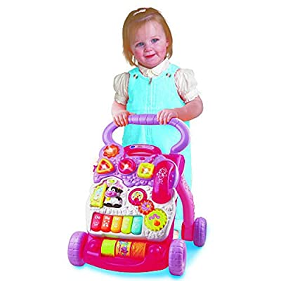 Vtech Sit-to-Stand Learning Walker - Pink: Toys & Games