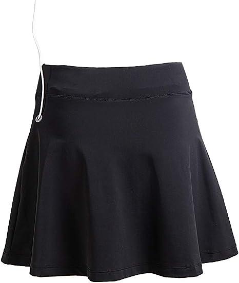 Anivivo - Leggings con falda para mujer, falda capri, pantalón de ...