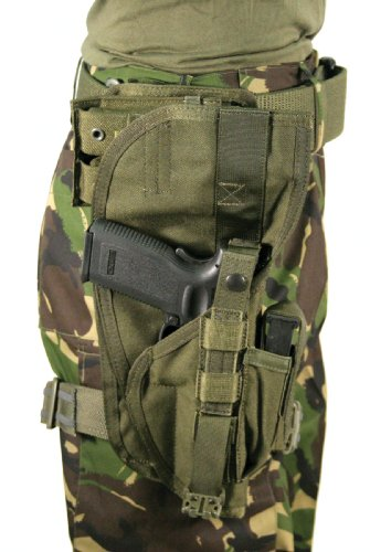 BLACKHAWK! Special Operations Holster, Olive Drab, Right Hand (Most Large Frame Weapons)
