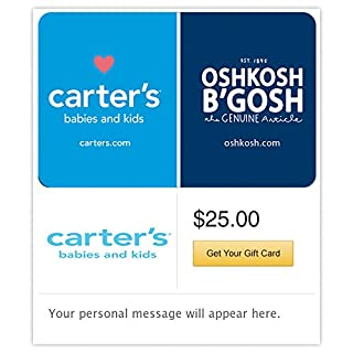 Carter's/OshKosh Castle Gift Cards - E-mail Delivery (B0172YKJU2) | Amazon Products