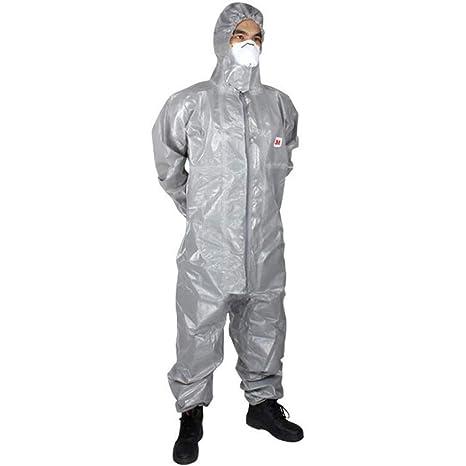 AF ES Ropa de protección química con Capucha, Laboratorio ...