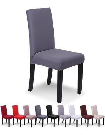 SaintderGR Housse De Chaise 4 Pieces Salle A Manger Pour Un Ajustement