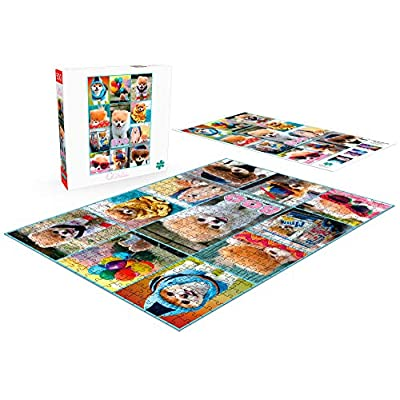 Buffalo Games - Boo Collage - 500 Piece Jigsaw Puzzle: Toys & Games